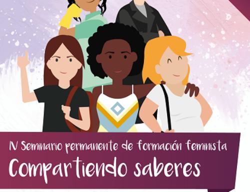 """Seminario de formación permanente feminista """"Compartiendo saberes"""""""