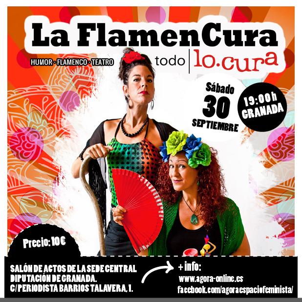 La Flamencura todo lo-cura. Humor, música, teatro. 30 de septiembre 19 h, Granada